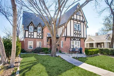 Dallas Single Family Home For Sale: 5746 Llano Avenue