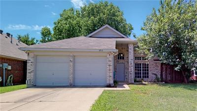 Lewisville Single Family Home Active Option Contract: 1812 Sunflower Lane