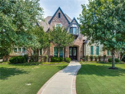 Prosper Single Family Home For Sale: 1621 Hidden Bluff Court