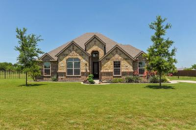 Waxahachie Single Family Home Active Contingent: 110 Kelly Drive