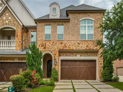 Carrollton Townhouse For Sale: 4256 Haskell Drive