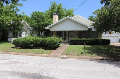 Eastland TX Single Family Home For Sale: $89,500