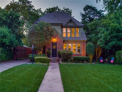Single Family Home Active Option Contract: 1107 S Canterbury Court