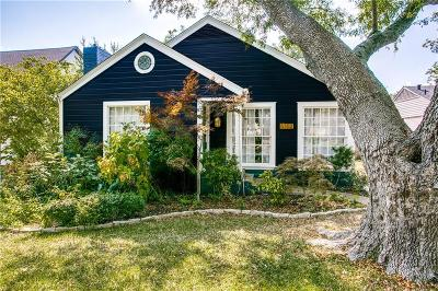 Dallas Single Family Home For Sale: 6302 Reiger Avenue