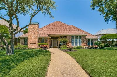 Plano Single Family Home Active Option Contract: 3805 Vicksburg Court