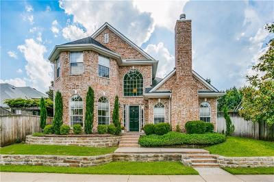 Plano Single Family Home Active Option Contract: 2309 Pagoda Oak Drive
