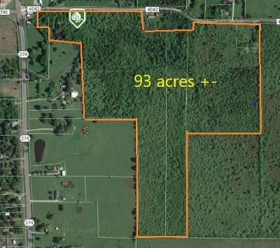 Athens, Kemp Residential Lots & Land For Sale: Tbd Cr 4042