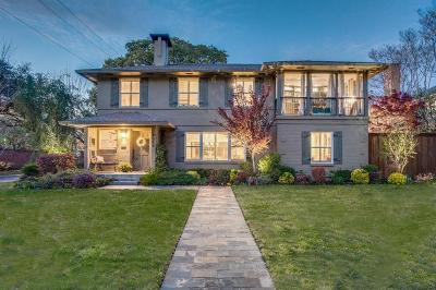Highland Park Single Family Home For Sale: 4554 Westway Avenue