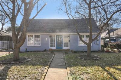 North Oak Lawn, North Oak Lawn Add, Notth Oak Lawn, Oak Lawn Heights, Oaklawn Single Family Home For Sale: 5109 Parkland Avenue
