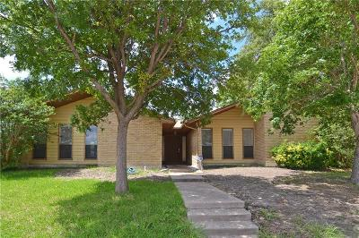 Richardson Single Family Home Active Option Contract: 1319 Starshadow Drive