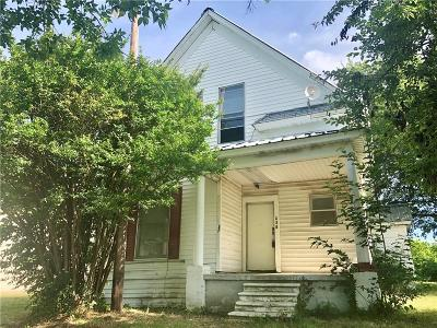 Denison Single Family Home For Sale: 401 Martin Luther King Street