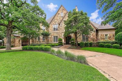 Southlake Single Family Home For Sale: 1820 Beam Drive