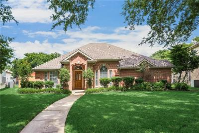 Allen Single Family Home Active Option Contract: 25 Heritage Woods Place