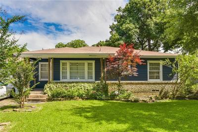Waxahachie Single Family Home Active Option Contract: 106 Charlotte Avenue