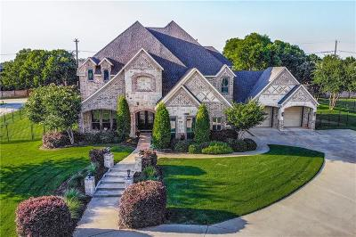 Flower Mound Single Family Home For Sale: 4150 Rock Haven Court