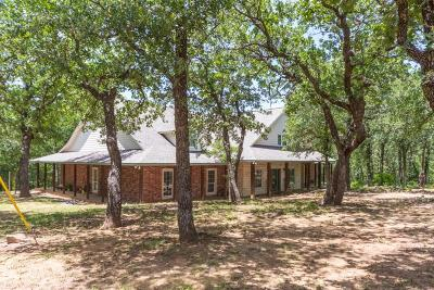 Wise County Single Family Home For Sale: 100 Post Oak Cove