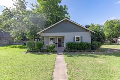 Stephenville Single Family Home Active Contingent: 890 W Long Street
