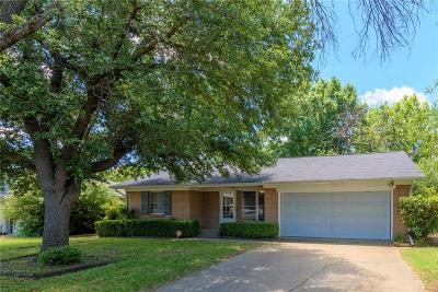 Denton Single Family Home For Sale: 1818 Mohican Street