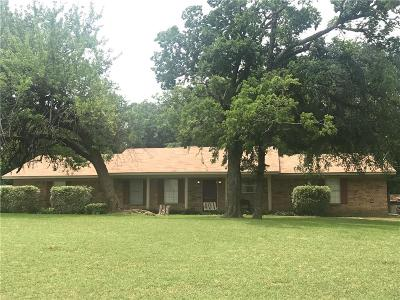 Wills Point Single Family Home Active Option Contract: 401 Bull Durham Road