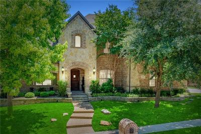 Mckinney Single Family Home Active Option Contract: 7201 Millerd Pond Drive