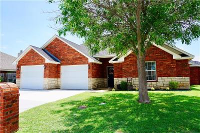Abilene Single Family Home Active Option Contract: 1217 Lewis And Clark Trail