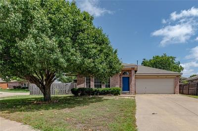 Benbrook Single Family Home Active Option Contract: 7309 Summerset Drive