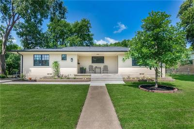 Grapevine Single Family Home Active Option Contract: 3603 Grandview Drive