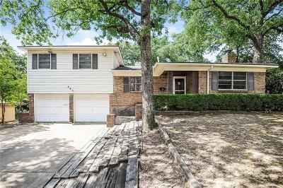 Hurst Single Family Home For Sale: 845 Edgehill Drive