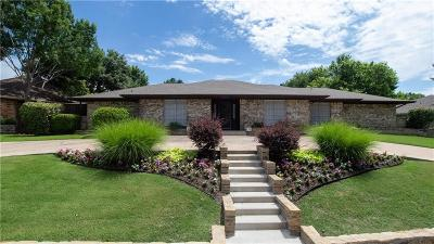 Carrollton Single Family Home Active Option Contract: 1408 N Trail Drive