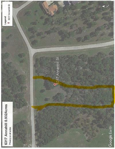Johnson County Residential Lots & Land For Sale: 6317 Annanhill Street
