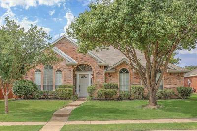 Frisco Single Family Home Active Option Contract: 11701 Amber Valley Drive