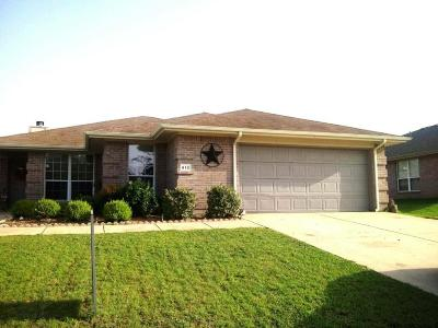 Royse City Single Family Home Active Option Contract: 613 Tripp Trail