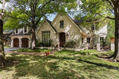 Dallas County Single Family Home For Sale: 5771 Glen Falls Lane