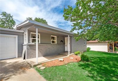 Richland Hills Single Family Home Active Option Contract: 3112 Mimosa Park Drive