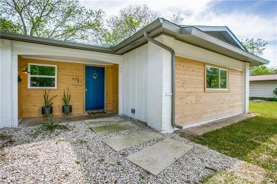 Richardson Single Family Home Active Option Contract: 439 N Melrose Drive