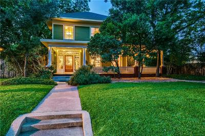 Dallas County Single Family Home For Sale: 3403 Knight Street