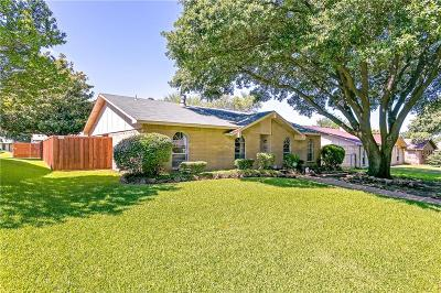 Plano Single Family Home Active Option Contract: 1436 Whitehall Drive