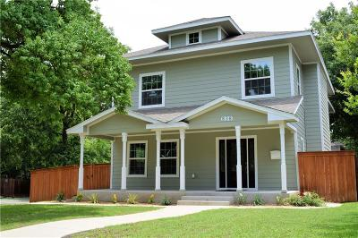 Dallas County Single Family Home For Sale: 838 Woodlawn Avenue
