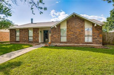 Coppell Single Family Home Active Option Contract: 462 Woodhurst Drive