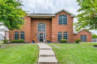 Wylie Single Family Home Active Option Contract: 1613 Stonecrest Trail