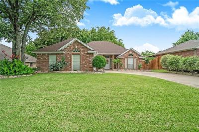 Weatherford Single Family Home Active Option Contract: 106 Chimney Rock Drive
