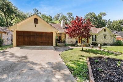 Dallas Single Family Home For Sale: 212 S Shore Drive