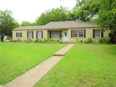 Fort Worth TX Single Family Home For Sale: $489,900