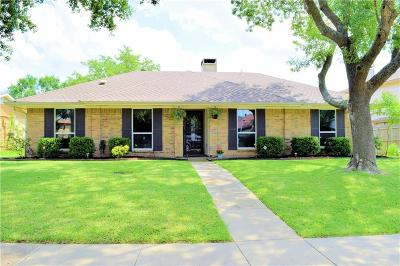 Carrollton Single Family Home Active Option Contract: 2608 Winterlake Drive