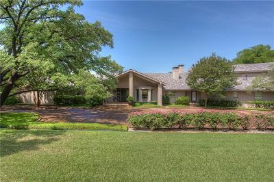 Fort Worth Single Family Home For Sale: 4404 Ridgehaven Road