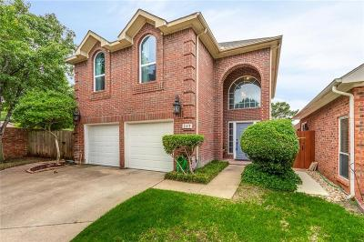 Euless Single Family Home Active Option Contract: 327 Arbor Court