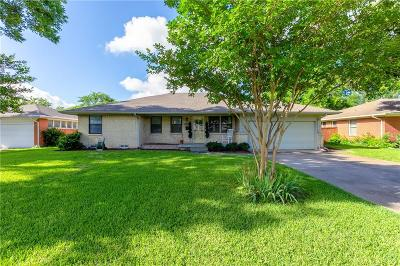 Farmers Branch Single Family Home Active Option Contract: 2956 Eric Lane