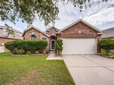 Forney Single Family Home Active Contingent: 3004 Granite Rock Trail