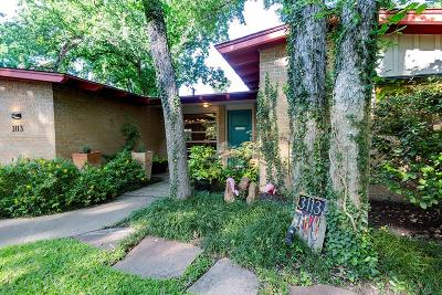 Fort Worth Single Family Home Active Option Contract: 3113 Tanglewood Trail