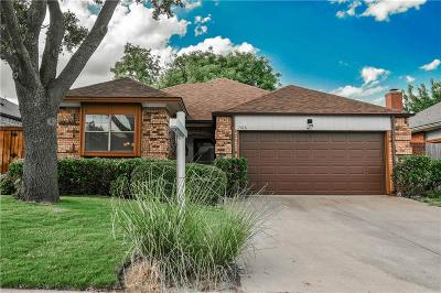 Grapevine Single Family Home For Sale: 1506 Briarcrest Drive